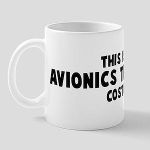 Avionics Technician costume Mug