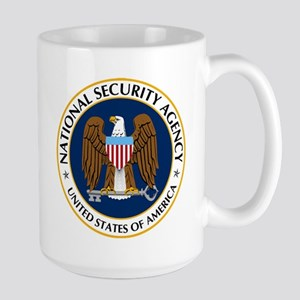 National Security Agency Large Mug Mugs