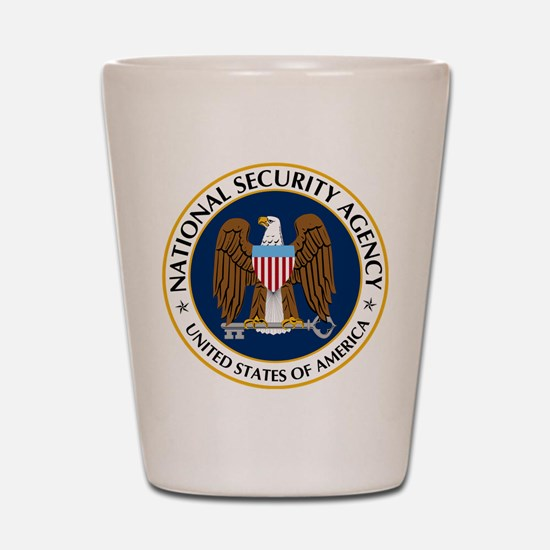 National Security Agency Shot Glass