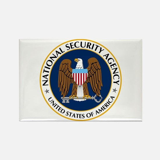 National Security Agency Rectangle Magnet Magnets