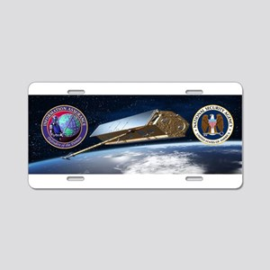 National Security Agency Aluminum License Plate