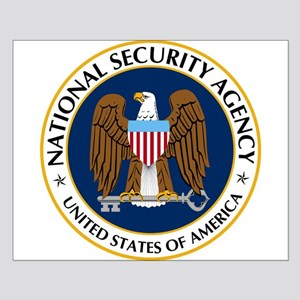 National Security Agency Small Poster