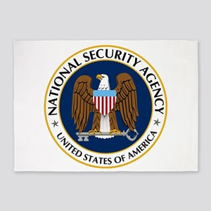 National Security Agency 5'x7'area Rug