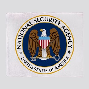 National Security Agency Throw Blanket