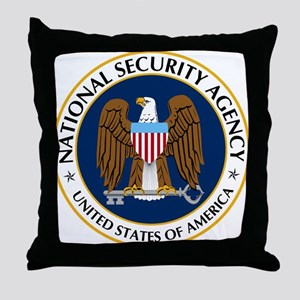 National Security Agency Throw Pillow