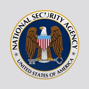 National Security Agency Round Ornament