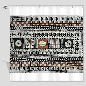 Tribal Design Shower Curtain