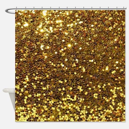 Luxurious Glamorous Designs Shower Curtain