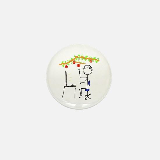 Low Hanging Fruit Mini Button