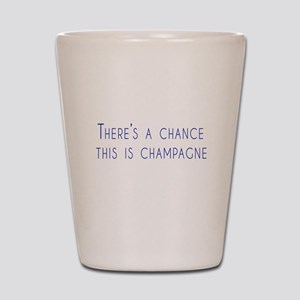 There is a chance this is champagne Shot Glass