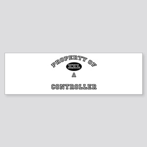 Property of a Controller Bumper Sticker