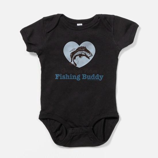 Cute Grandpa hunting Baby Bodysuit