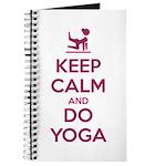 Keep Calm and do Yoga Journal