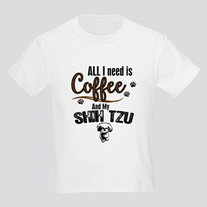 All I need is Coffee and myb Shih Tzu T-Shirt