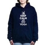 Keep Calm and do Yoga Women's Hooded Sweatshirt