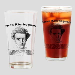 Kierkegaard Women Drinking Glass