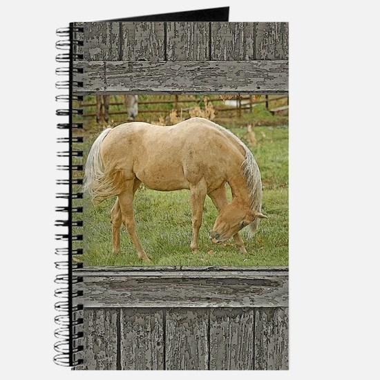 Wood window palomino Journal