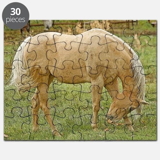 Wood window palomino Puzzle