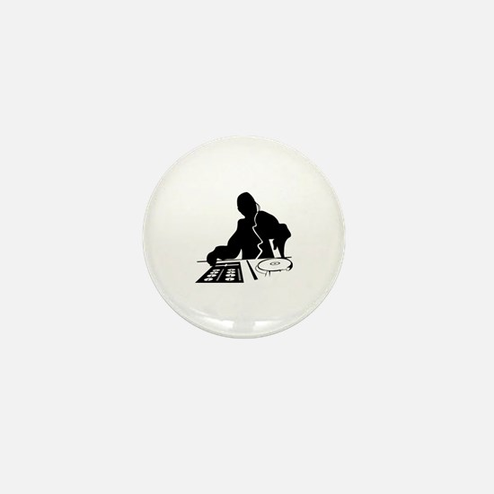 Cute Dj Mini Button