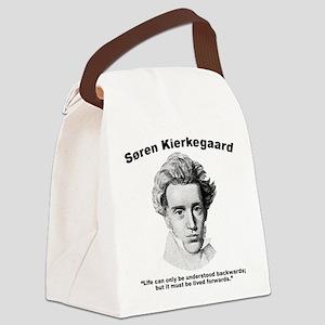 Kierkegaard Understood Canvas Lunch Bag