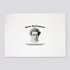 Kierkegaard Understood 5'x7'Area Rug