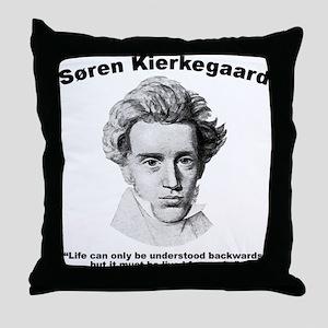 Kierkegaard Understood Throw Pillow