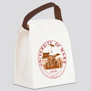 dept of history zwart Canvas Lunch Bag