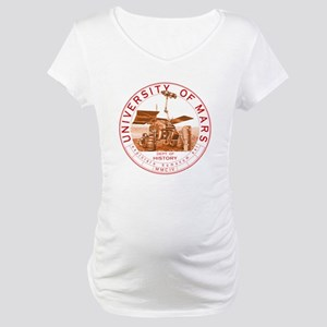 dept of history zwart Maternity T-Shirt
