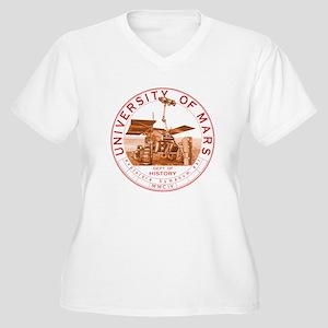 dept of history zwart Plus Size T-Shirt