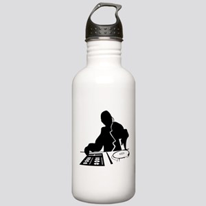 Dj Mixing Turntables C Stainless Water Bottle 1.0L