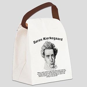 Kierkegaard Truth Canvas Lunch Bag