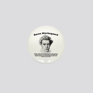 Kierkegaard Truth Mini Button