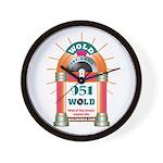 Oldies 1079 Logo Wall Clock