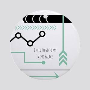 Mind Palace Round Ornament
