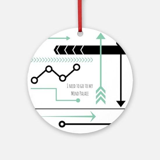 Mind Palace Round Ornament