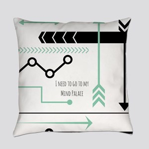 Mind Palace Everyday Pillow