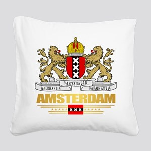 Amsterdam Square Canvas Pillow