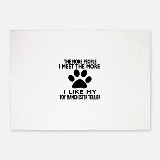 I Like More My Toy Manchester Terri 5'x7'Area Rug