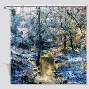 All Is Calm, All Is Bright Shower Curtain