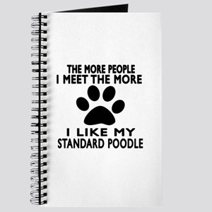 I Like More My Standard Poodle Journal