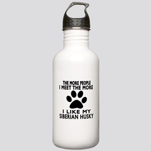 I Like More My Siberia Stainless Water Bottle 1.0L