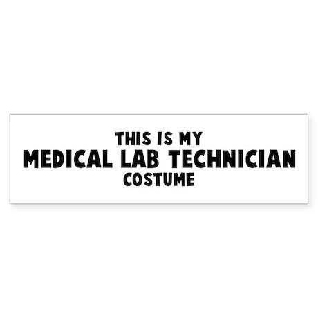 Medical Lab Technician costum Bumper Sticker