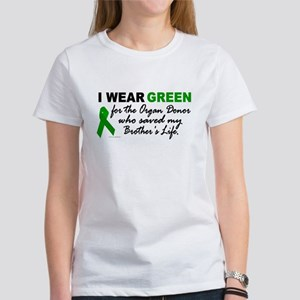 I Wear Green 2 (Saved My Brother's Life) Women's T