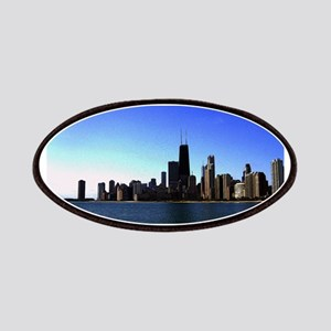 The Chicago Skyline in Feathered Art Patch