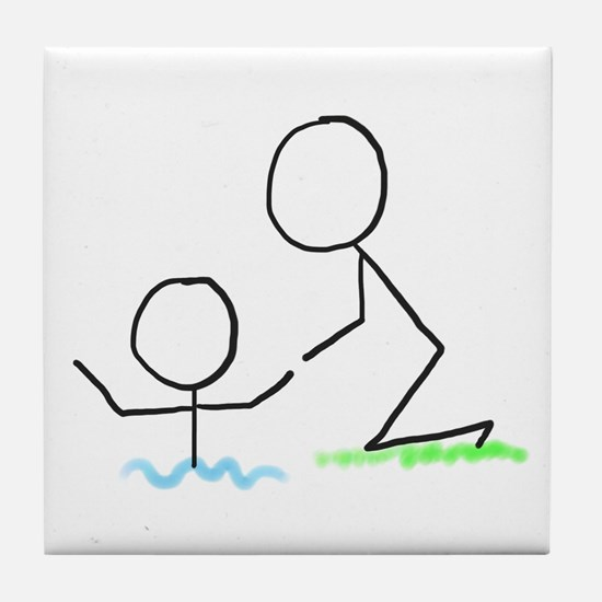 Helping Hand Tile Coaster