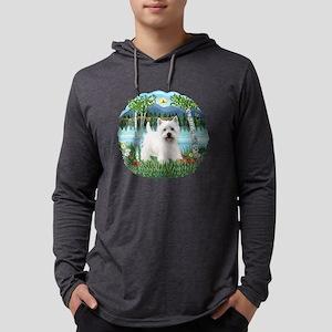 Birches-Westie5 Mens Hooded Shirt