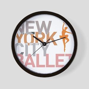 Ballet Wall Clock