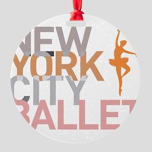 Ballet Round Ornament