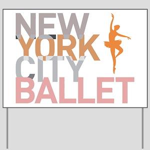 Ballet Yard Sign