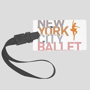 Ballet Large Luggage Tag
